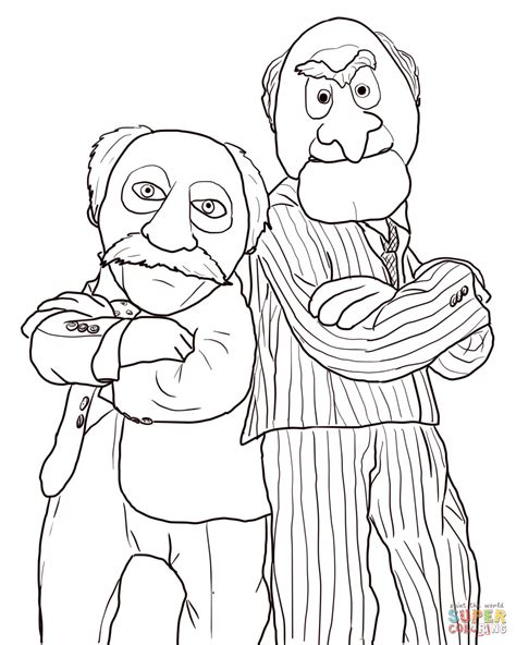 enlightened pugs coloring book books statler and waldorf coloring coloring