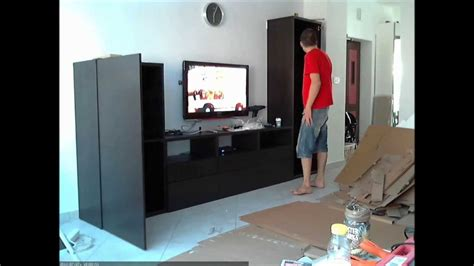 ikea besta assembly ikea besta assembly time lapse youtube