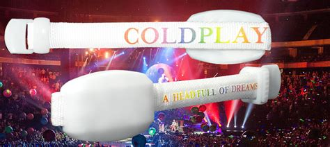 coldplay xyloband coldplay xyloband 2016