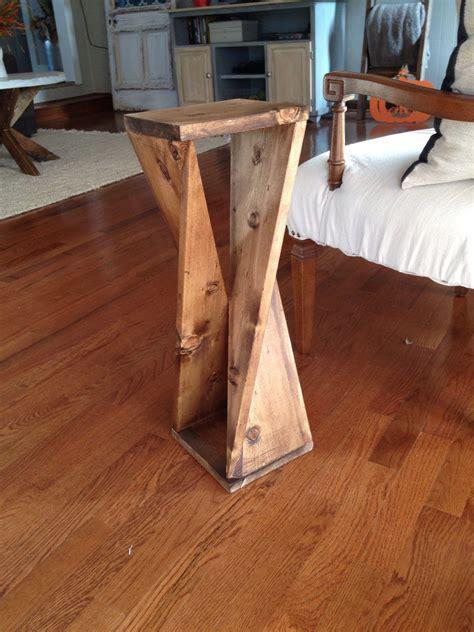 board challenge twisty table diy woodworking