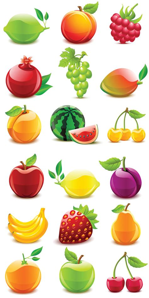 fruit free 50 free vector fruits vegetables icons