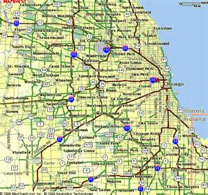 Map Of Chicago Suburbs by Chicago Area Map Suburbs