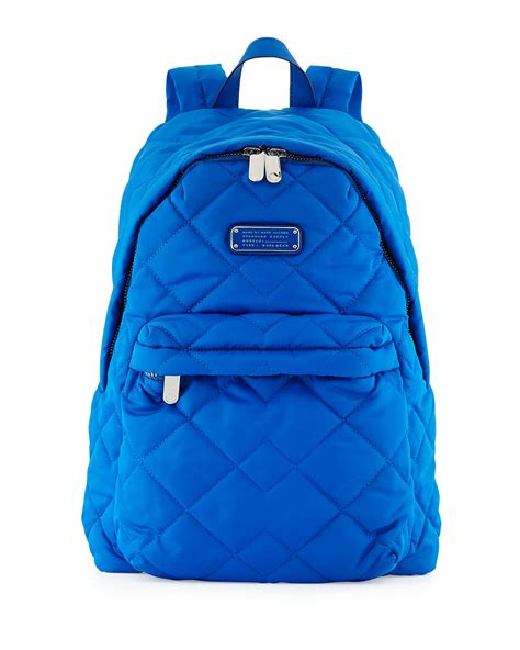 Marc By Marc Quilted by Marc By Marc Crosby Quilted Backpack In Blue