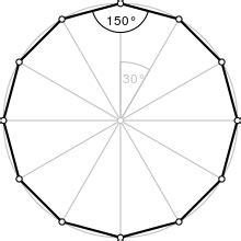 12 Sided Polygon Interior Angles Dodecagon Wikipedia