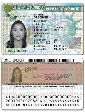 New Permanent Resident Card Design