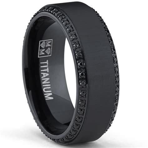 Wedding Bands Black Diamonds by Black Wedding Rings For Wedding Promise
