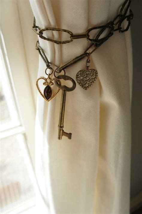 unique curtain tie back ideas curtain ties curtain tie backs and curtains on pinterest