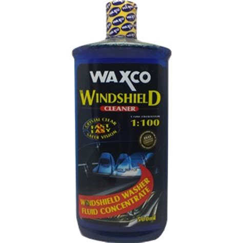 Waxco Car Accessories waxco windshield cleaner 500ml car care products horme
