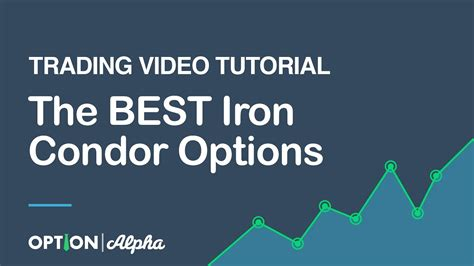 tutorial online trading the best iron condor options trading video tutorial youtube