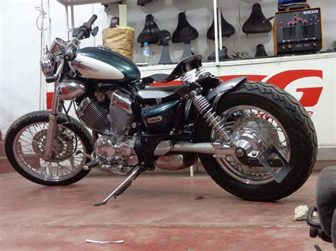 banco yamha banco solo virago 535 chopper bobber 250 dragstar midnight