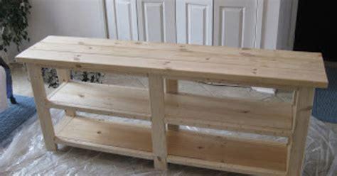 Building A Sofa Table by Building A Sofa Table Hometalk