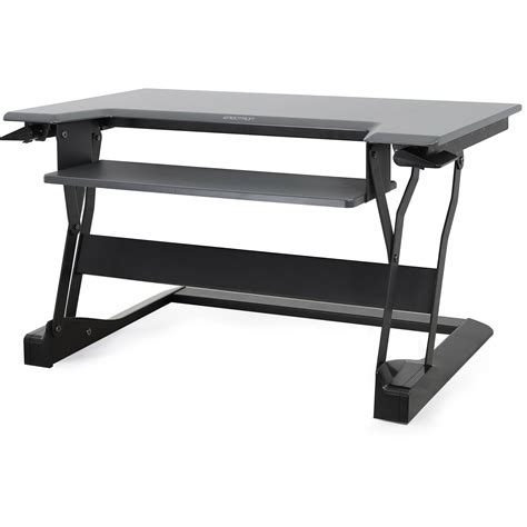 ergotron standing desk ergotron workfit t sit stand desktop workstation 33 397 085 b h