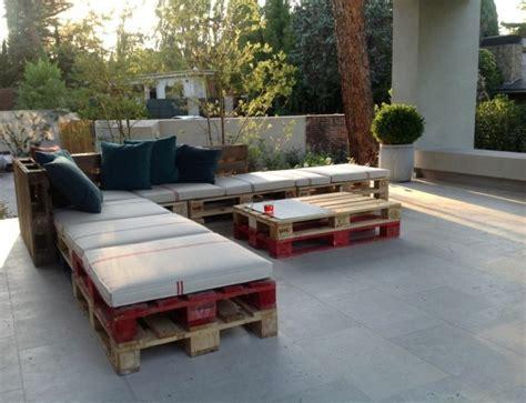 fabriquez votre salon de jardin gr 226 ce 224 la palette bois