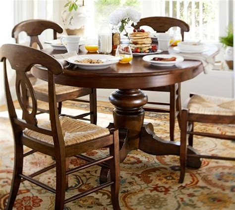 good looking extendable dining table in dining room good pottery barn dining room tables on banks extending