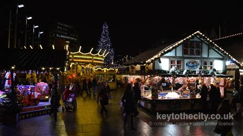 winter wonderland nottingham local event key to the city