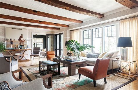 design house furniture tour the chic modern lake house of designer thom filicia
