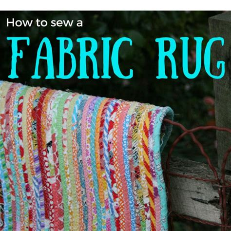 fabric scrap rug how to sew a fabric rug tutorial crafty crafts rugs this and