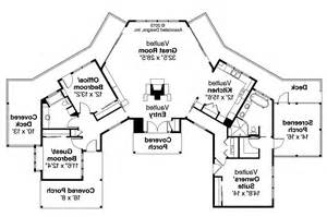 Prairie Style Floor Plans by Prairie Style House Plans Edgewater 10 578 Associated