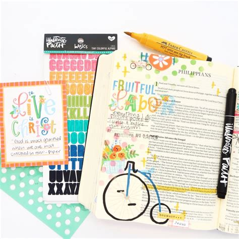 Read And Pray Bible An Illustrated Bible For Children print and pray bible journaling process