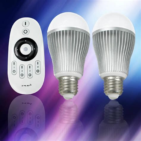 remote control light bulb mi light led color temperature adjustable light bulb 2