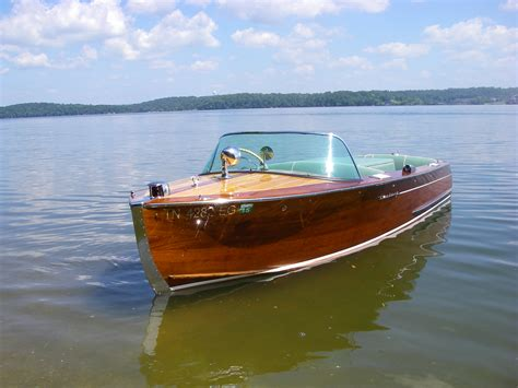 old century wooden boats classic inboard power georgetown wooden boat show