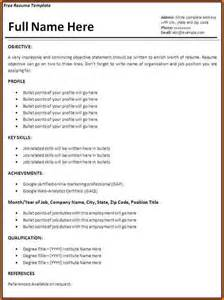 Job Resume Samples Simple by How To Make A Simple Job Resume Simple Job Resume