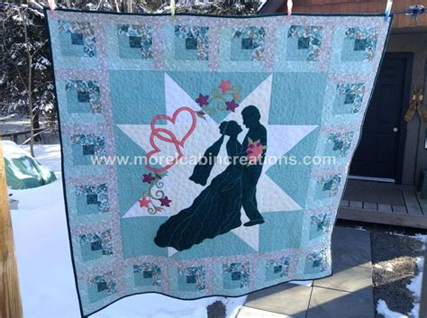 Wedding Quilt Patterns by Quot Of My Quot A Wedding Quilt By Morelcabin Craftsy