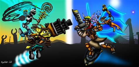best jak and daxter battle ratchet and clank vs jak and daxter by