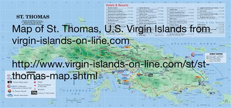 us islands map st travel caribbean us islands on st