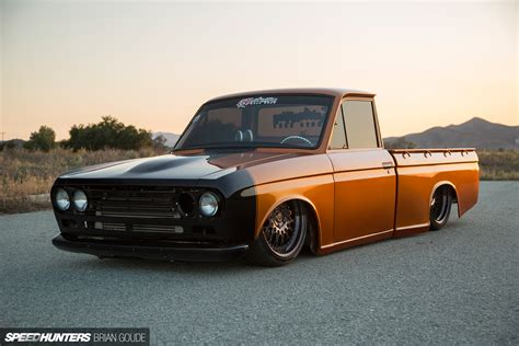 A Datsun Truck With Skyline Tricks Speedhunters