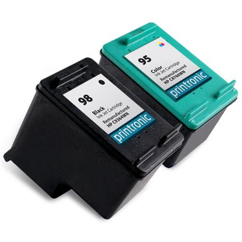 Hp 95 Color Cartridge compatible hp 98 black ink cartridge and hp 95 color ink