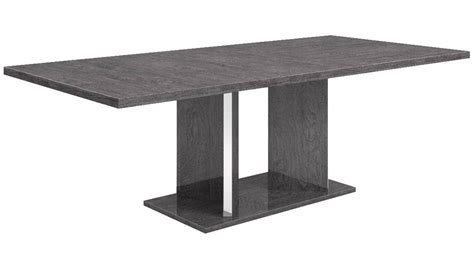 modern extension dining table modern marquis extension dining table grey birch high