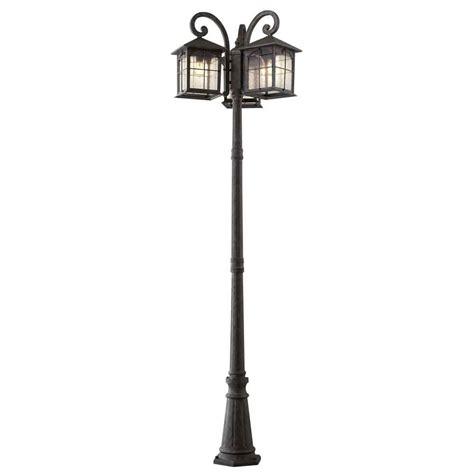 home decorators outdoor lighting home decorators collection brimfield 3 head aged iron