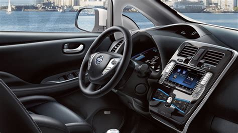 nissan leaf interior 2017 nissan leaf review and information united cars
