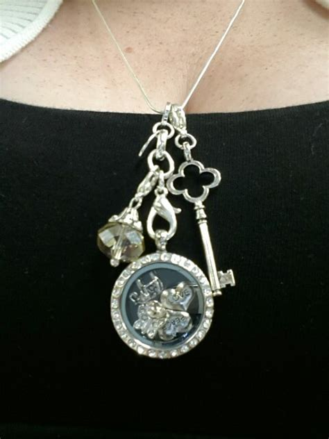 Origami Owl Pendants - my origami owl necklace memory lockets