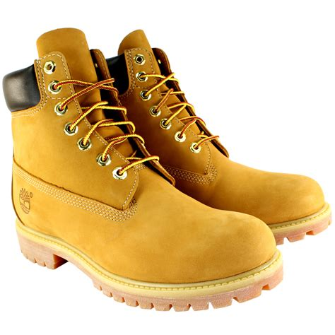 timberlands boots mens timberland premium classic leather original lace up