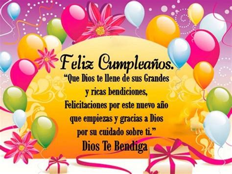 imagenes feliz cumpleaños que dios te bendiga coloridas tarjetas de feliz cumplea 241 os que dios te bendiga