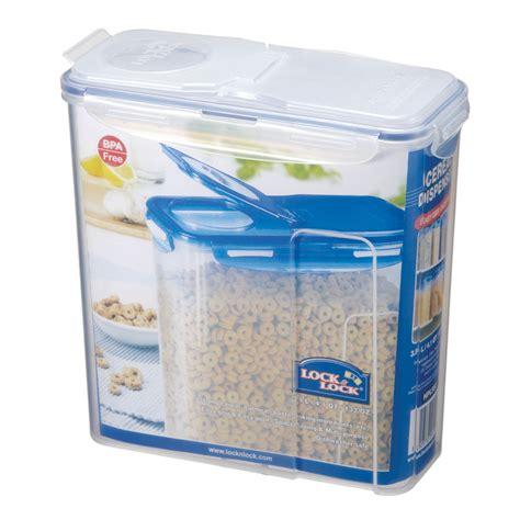 Dispenser Air Tupperware lock and lock food cereal dispenser