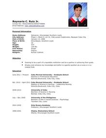 academic resume template for grad school resume exles for graduate school resume format