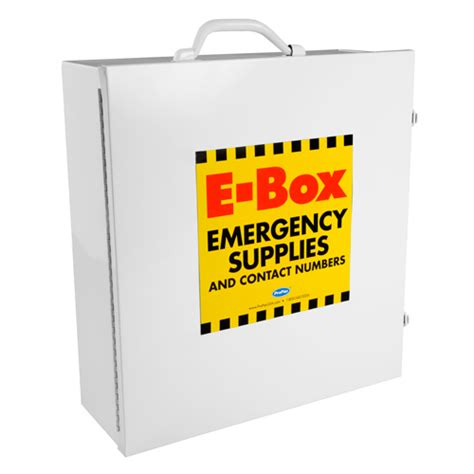 E-Box Emergency Cabinet| Cert Kits E Box