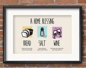 new home blessing basket printable new home blessing bread salt wine poem bread wine