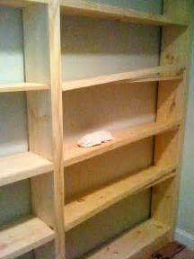 Build Built In Bookshelves Deux Maison Inspired To Build Diy Built In Bookcase