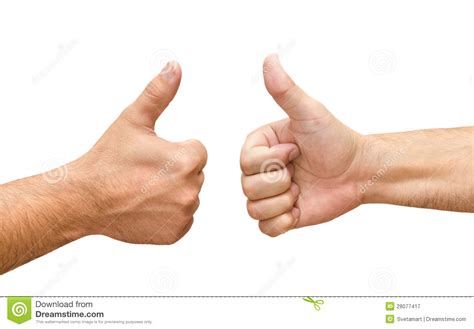 imagenes de manos haciendo ok dos manos masculinas con los pulgares suben ok imagen de