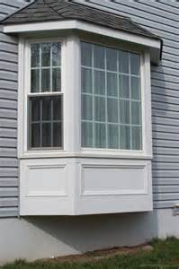 Oriel window is a bay window that does not go down to foundation