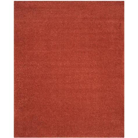 arizona rug safavieh arizona shag terracotta 9 ft x 12 ft area rug asg820f 9 the home depot