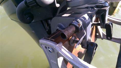buitenboordmotor conserveren zeilersforum nl houten blok ophanging bb waar haal je