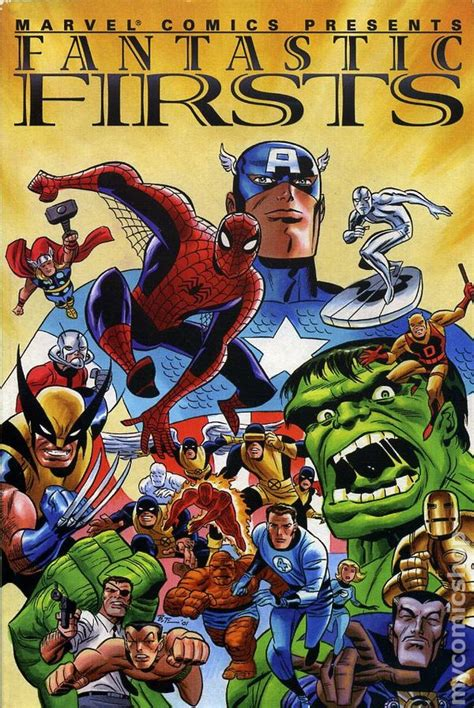 Fantastic Firsts For by Fantastic Firsts Tpb 2002 Marvel Comic Books