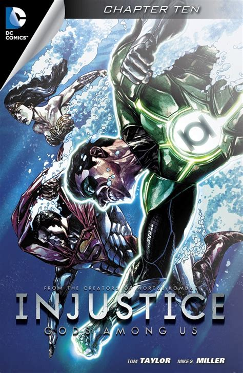 injustice books superman confronts batman in the injustice comics chapter