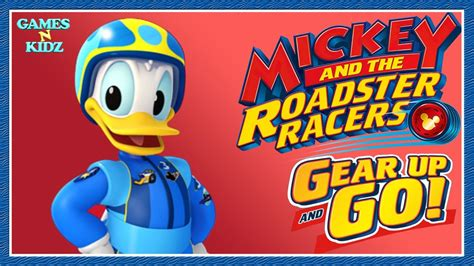 Donald Duck Racer mickey and the roadster racers donald duck tool finding