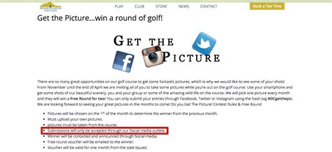Golf Contests Sweepstakes - golf course marketing ideas 5 social media tips to drive membership growth
